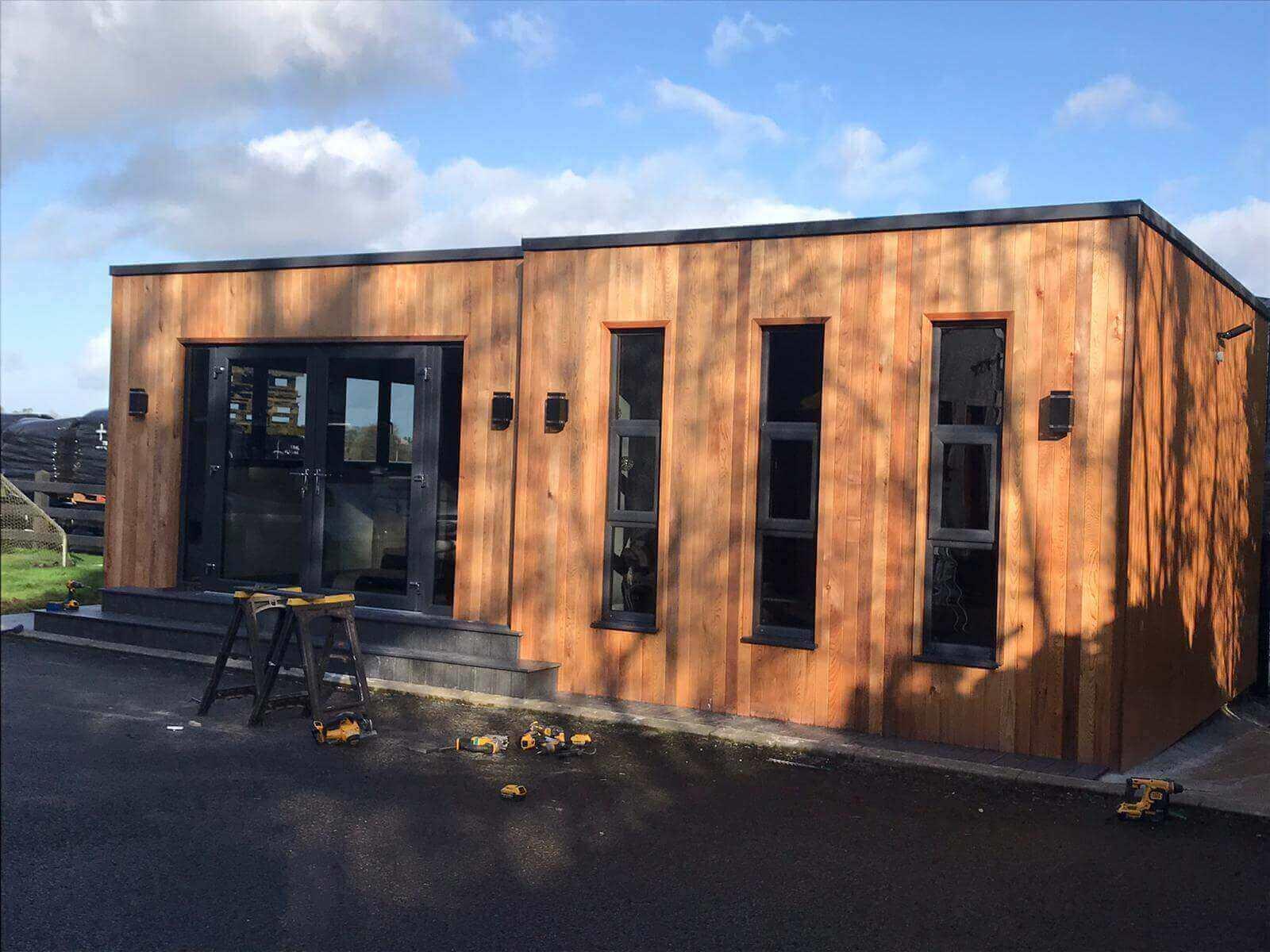 Quinns Offsite Outdoor Modular rooms