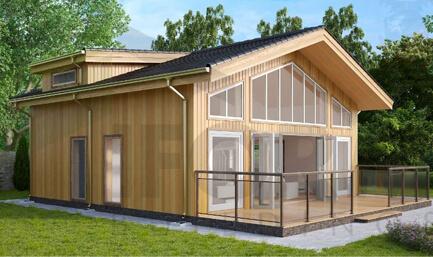 Quinns Offsite Timber frame Modular House